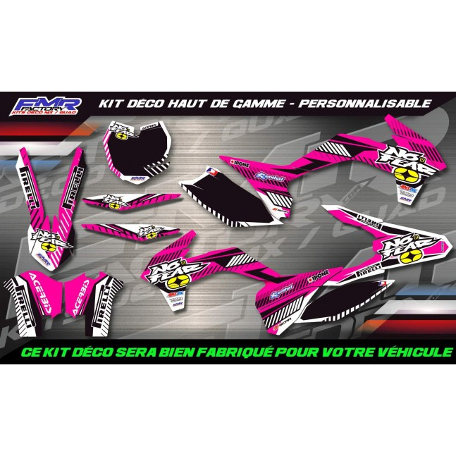 KIT DÉCO Perso 50 SX No Fear