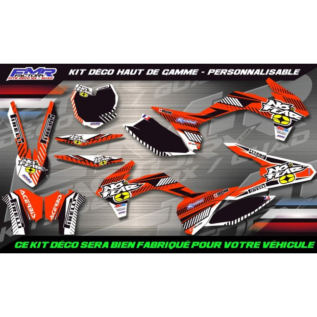 KIT DÉCO Perso 65 SX No Fear