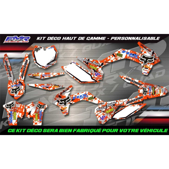 KIT DÉCO SX/ SXF/ EXC FOX Race