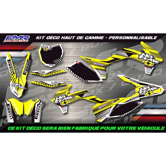 KIT DÉCO 250 RMZ 10-18 No Fear