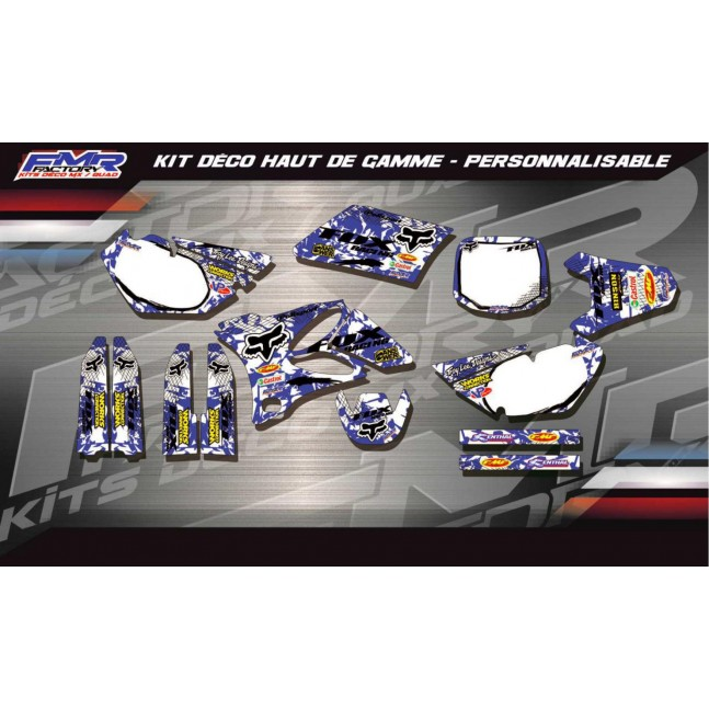 KIT DÉCO Perso 80/85 YZ FOX...