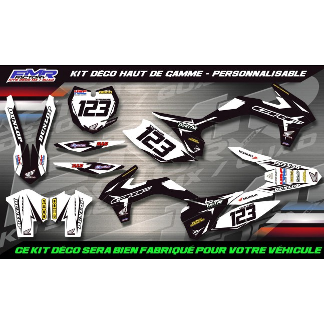 KIT DÉCO 150 CRF Factory Black