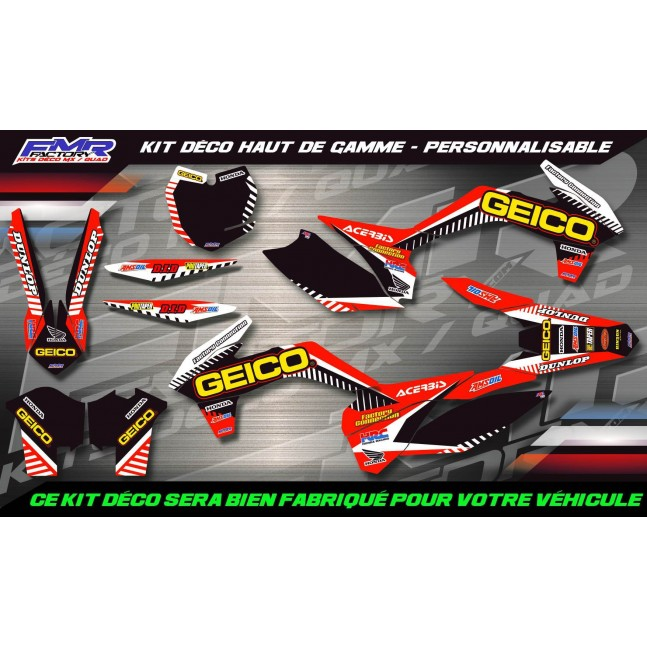 KIT DÉCO Perso 150 CRF GEICO