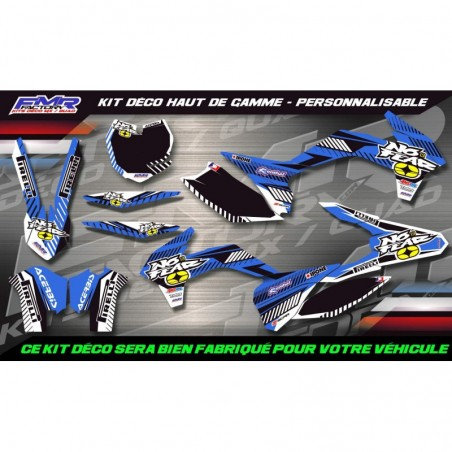 KIT DÉCO Perso 450 YFZ No Fear