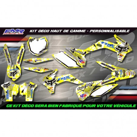 KIT DÉCO Perso 450 YFZ FOX...