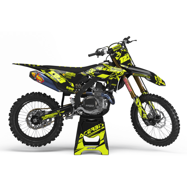 Kit déco FLUO PERSO HONDA REAL