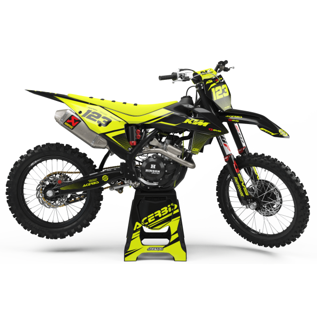 KIT DÉCO FLUO PERSO KTM SUV