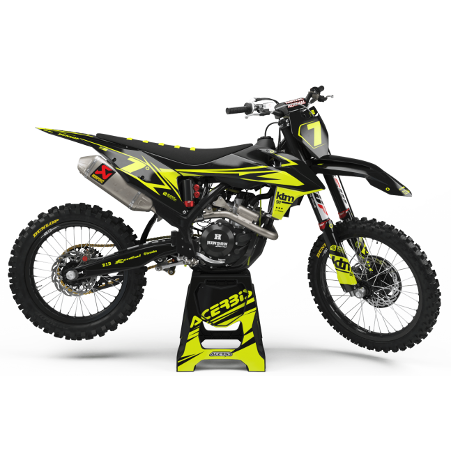 KIT DÉCO FLUO PERSO KTM CHILL