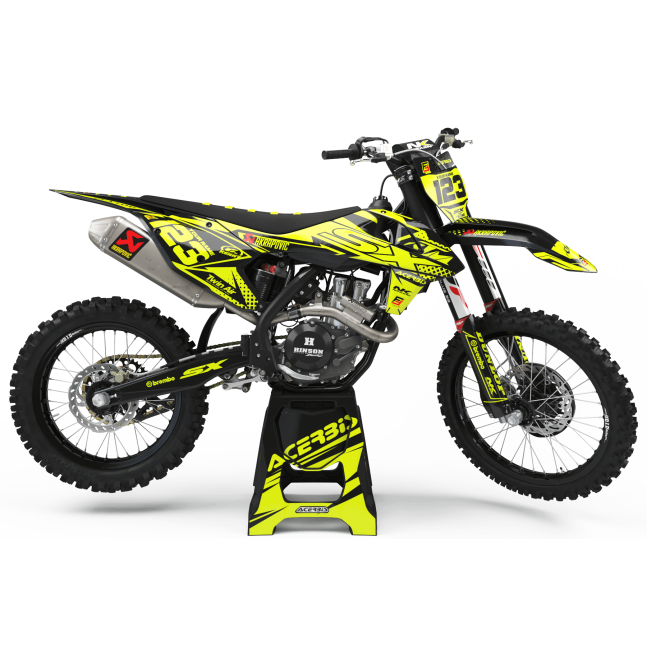 KIT DÉCO FLUO PERSO KTM NK ONE