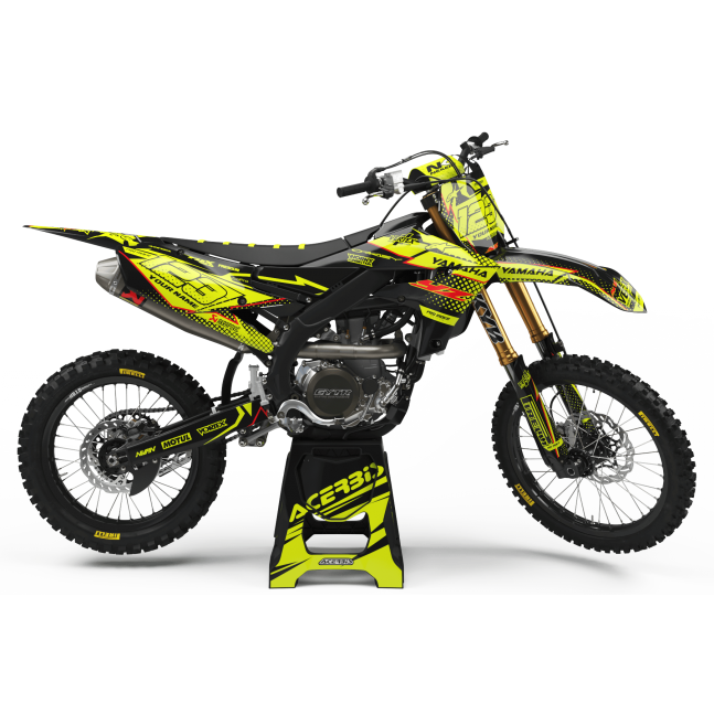 KIT DÉCO FLUO PERSO YAMAHA FAB