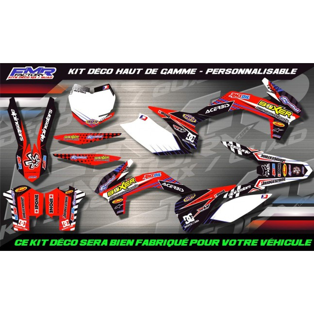 KIT DÉCO Perso WR 125 09-13...
