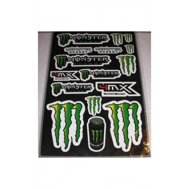 STICKERS MONSTER 4MX