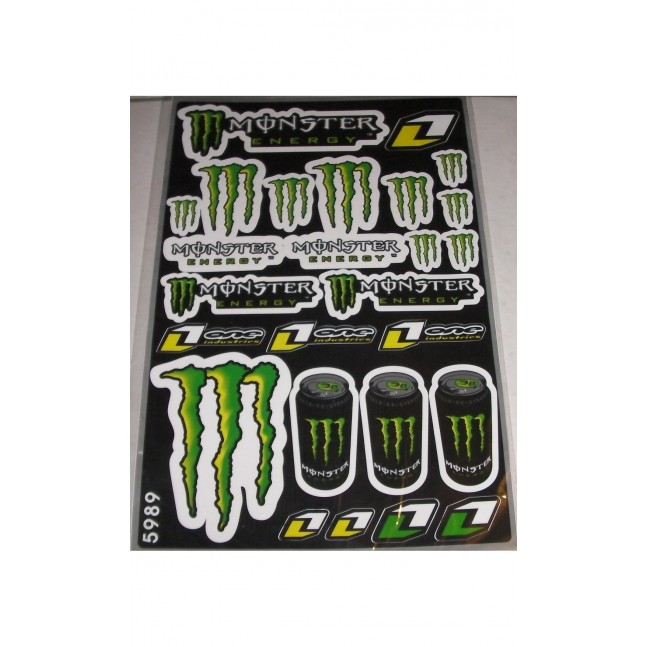STICKERS MONSTER One