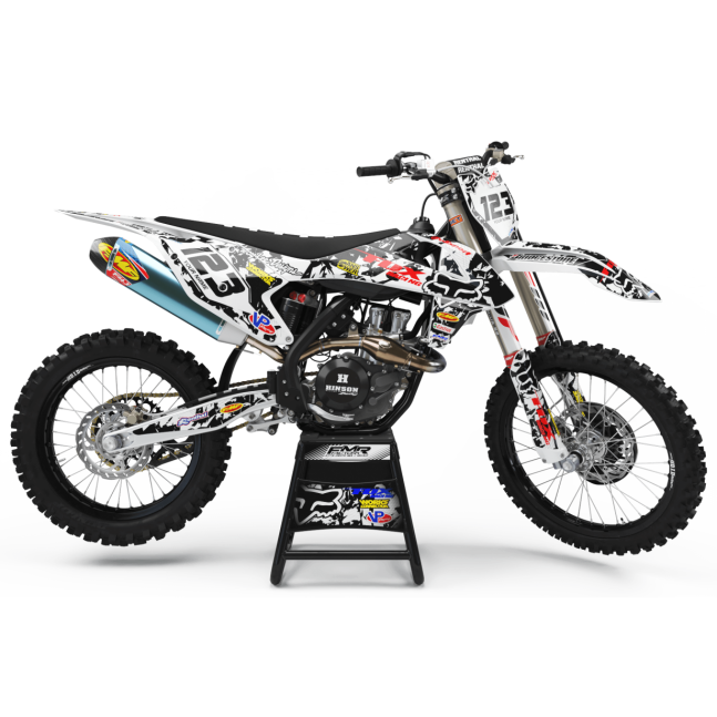 KIT DECO MOTOCROSS FOX CAMO...