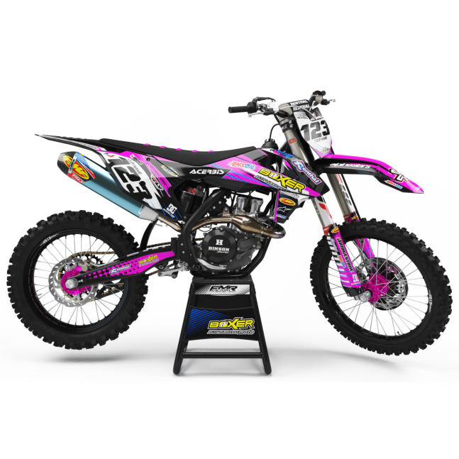 KIT DECO MOTOCROSS BOXER rose
