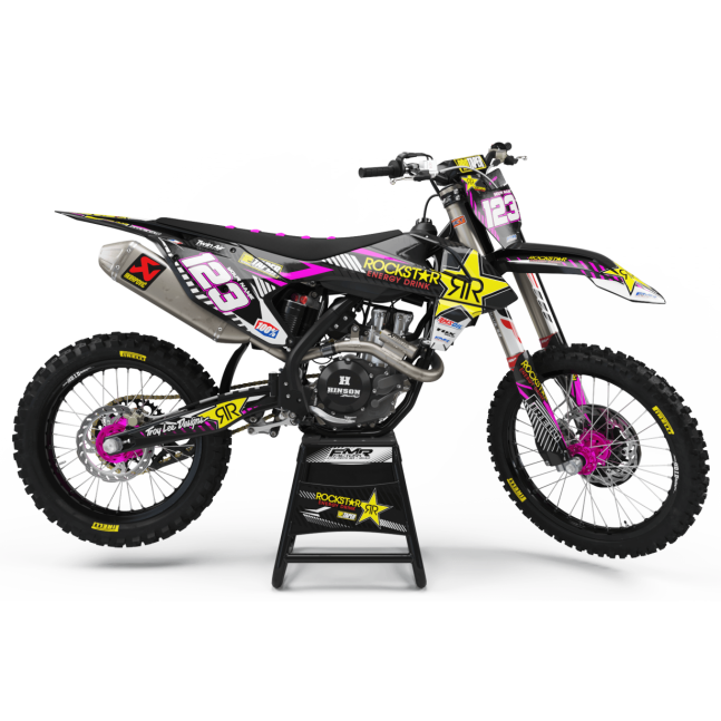 KIT DECO MOTOCROSS ROCKSTAR...