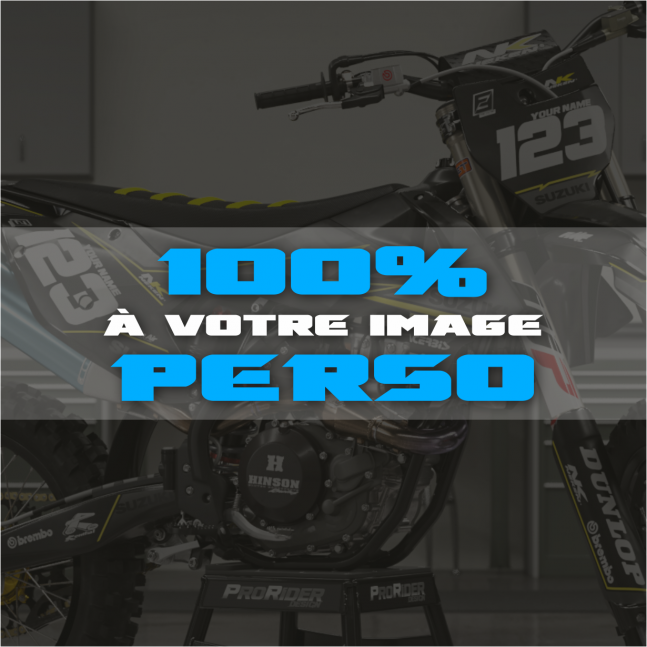 KIT DECO Motocross 100 %...