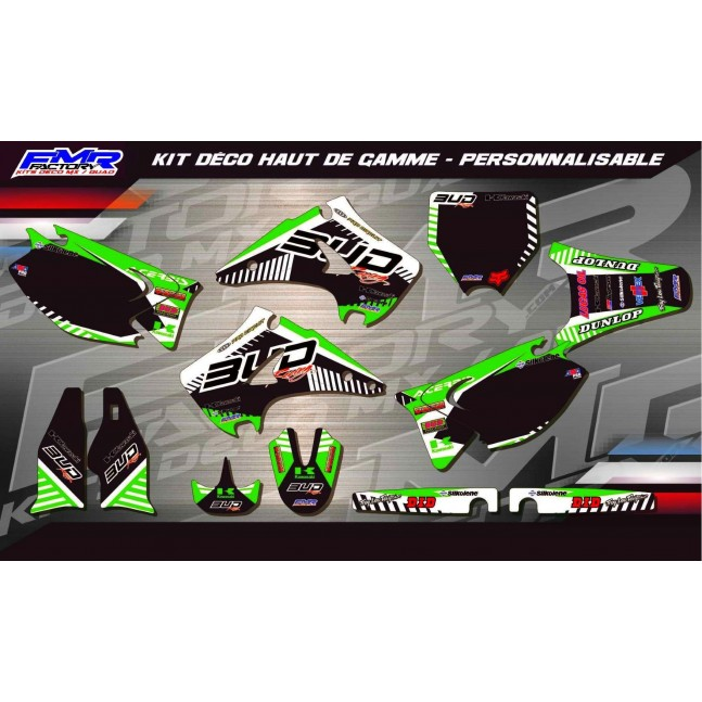 KIT DÉCO 125/250 KX BUD RACING