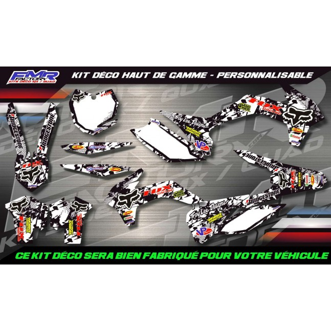 KIT DÉCO 125/250 KX FOX Racing