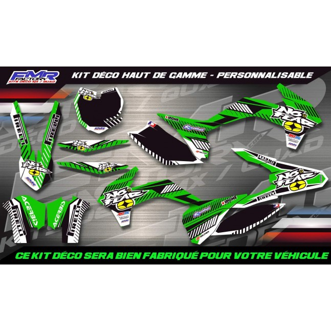 KIT DÉCO Perso KX/KLX No Fear